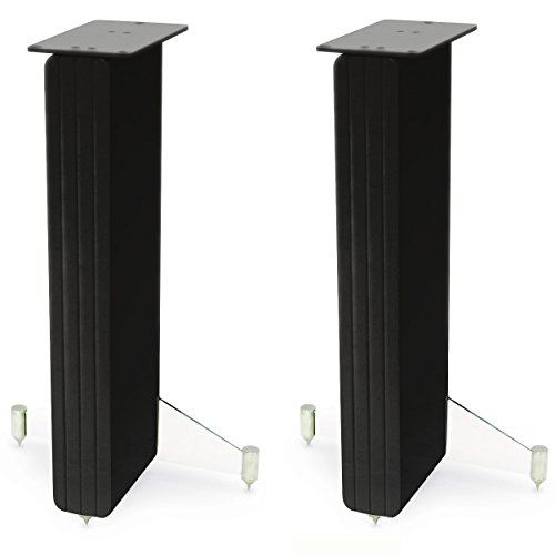 Q Acoustic Concept 20 Gloss Black Speaker Stand Pair by Q Acoustics