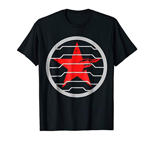 Red Soldier Trigger Word Winter Badge Emblem Star Hero Shirt]()