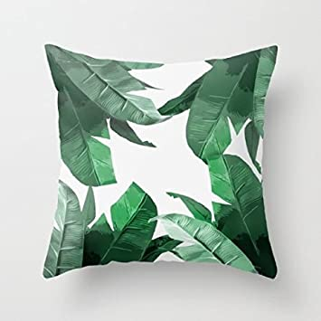 Brand-new Amazon.com: Vintage Tropical Palm Leaves Pattern Decorative Throw  HM78