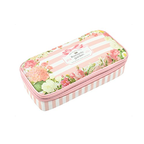 Pencil Case, Twinkle Club Big Capacity Students Stationery Z