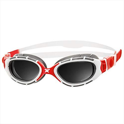 352d453e8d2 Zoggs Predator Flex 2.0 Polarized (Red White)