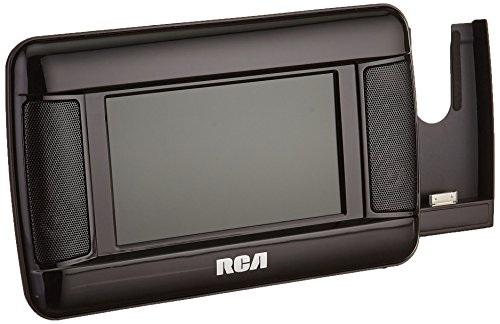 RCA DRC97873i 7-Inch Mobile DVD Player with iPhone Dock