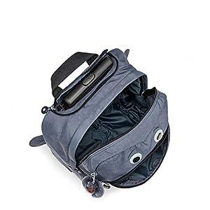 Kipling Women's Big Wheely Kids Rolling Backpack One Size True Jeans