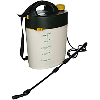 Root Lowell 5 Liter Flo Master Battery Powered Sprayer 1 3 Gallon Patio Lawn