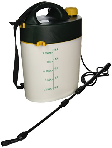 HUDSON 13581 Battery Power Sprayer, 1.3 gallon Battery Garden Sprayers
