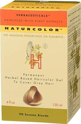 Naturcolor 9N Sesame Blonde Hair Dyes, 4 Ounce