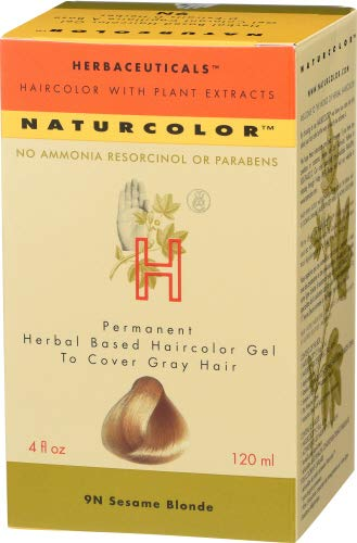 Naturcolor 9N Sesame Blonde Hair Dyes, 4 Ounce
