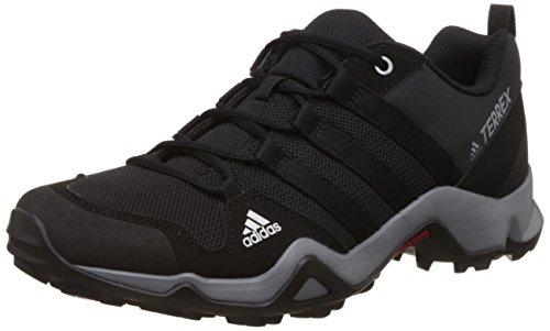 Adidas Terrex Ax2r K, Chaussures de Randonnée Mixte Enfant, Noir (Negbas/Negbas/Grivis), 38 EU
