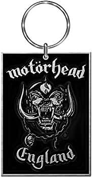 Motorhead Logotipo oficial England Logo Llavero metálico de ...
