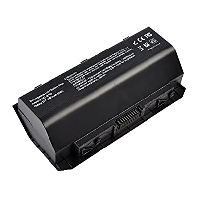 A42-G750 Laptop Battery for ASUS(ROG) G750 Series G750J G750JH G750JM G750JS G750JW G750JX G750JZ[Li-ion 15V 88WH 8-Cell] ---18 Months Warranty from Laptop Batteries