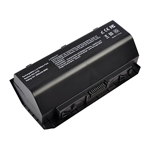 A42-G750 Laptop Battery for ASUS(ROG) G750 Series G750J G750JH G750JM G750JS G750JW G750JX G750JZ[Li-ion 15V 88WH 8-Cell] ---18 Months Warranty (Notebook Laptop Battery Pack)