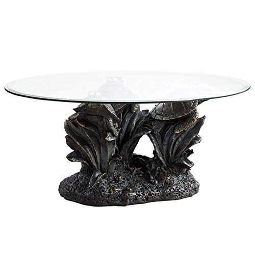 Powell Sheldon Glass Top Accent Coffee Table ()