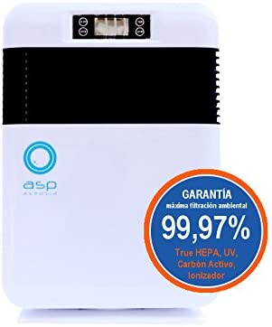 Purificador de Aire Doméstico con Filtro True HEPA para la ...