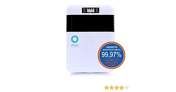 Purificador de Aire Doméstico con Filtro True HEPA para la eliminación de alérgenos y contaminación Ambiental: Amazon.es: Hogar
