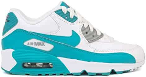 best service c4fa6 6cb85 NIKE Air Max 90 LTR Big Kids (GS) Shoes Anthracite Metallic Silver 833376