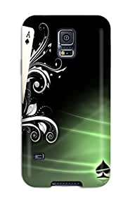 Durable Case For The Galaxy S5- Eco-friendly Retail Packaging(poker)