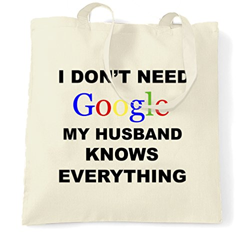 i-dont-need-google-my-husband-knows-everything-shopping-carrier-tote-bag