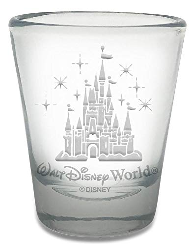 Walt Disney World Castle Toothpick/Shot Glass - 2 ounces