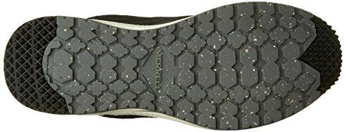 Merrell, Sneaker donna nero nero
