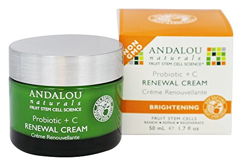 Cellular Renew Face Cream (Andalou Naturals Face Cream Probiotic C Renewal 50 ml(1.7 fl oz))
