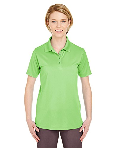 UltraClub Ladies Cool & Dry 8 Star Elite Perfo 8610L -Light Green XL