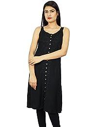 Embroidered Women Sundress Long Dress Casual Summer Beach Wear Dress Gift For Her