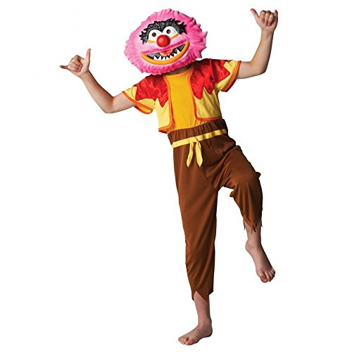 Rubie's Official Disney Muppets Deluxe Animal Costume For 5-6 Years - Medium