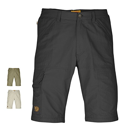 Fjällräven Pantalon Cape Point Micro Travel Zip Off Gris