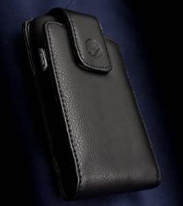 Orbit Case Oversized Genuine Leather Holster (revision 2) for Samsung Galaxy S3 using Rugged Cases, TPU Covers, or Snap On Cases