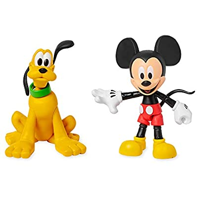 Disney Mickey Mouse and Pluto Action Figure Set Toybox