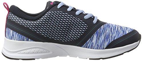 Champion Flashback, Zapatillas de Running para Mujer Azul (Nny/lib - Navyblau/hellblau)