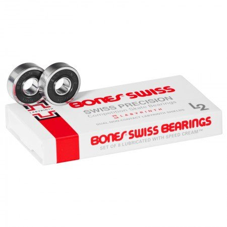 BONES BEARINGS Skateboard LABYRINTH SWISS Sale! NEW