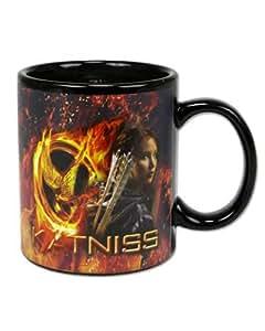 Neca - The Hunger Games, Katniss y Logo, taza térmica (NEC0NC31634)