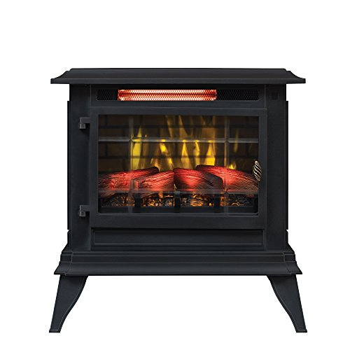 Duraflame Electric DFI-5020-01 Infrared Quartz Fireplace Stove Heater, Black
