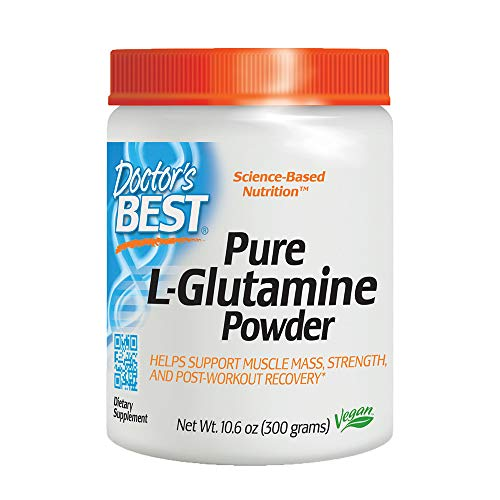Doctor's Best Pure L-Glutamine Powder, 300g, used for sale  Delivered anywhere in USA