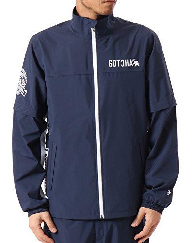 (ガッチャ ゴルフ) GOTCHA GOLF レイン ジャケット 99GG1602 ネイビー Lサイズ