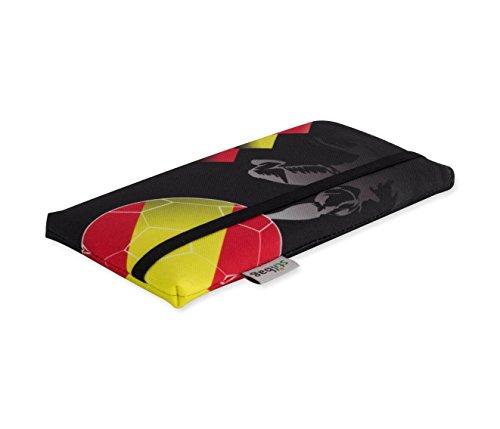 Stilbag Fan Estuche para teléfono Inteligente - Campeonato de Europa de fútbol 2016 - Bandera de España - Cubierta para Samsung Galaxy S5 neo