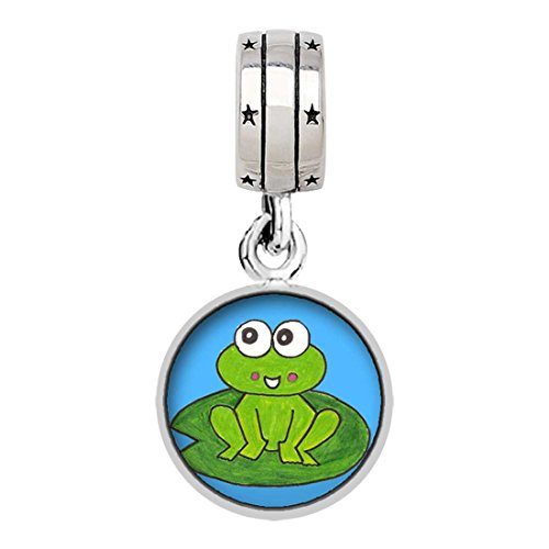 little cute frog cartoon Photo