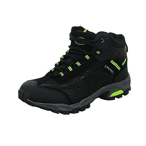 Sneakers 87162 Herren Leichtwanderstiefelette Schwarz (Schwarz)