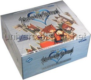 Kingdom Hearts Trading Card Game: Booster Display by Fantasy Flight Games