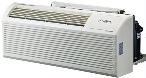 And Cooling Heating (Innova 9000 BTU Packaged Terminal Unit (PTAC) - Heating/Cooling - Heat Pump + 3.5 KW Heater - 240V 20AMPS)
