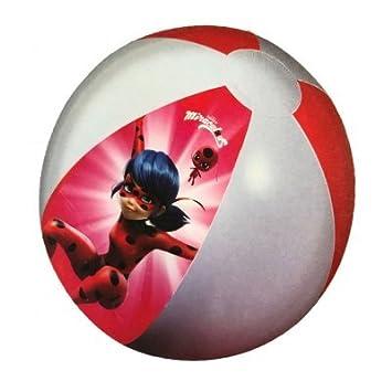 Giovas 870-90130 Ladybug - Balón de Playa, Multicolor: Amazon.es ...