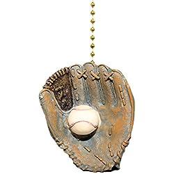 World Series Baseball Glove Ball Ceiling Fan & light Pull