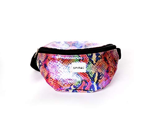 Spiral SNAKE - SHIMMER BUM BAG Sport Waist Pack, 23 cm, 2 liters,Multicolour