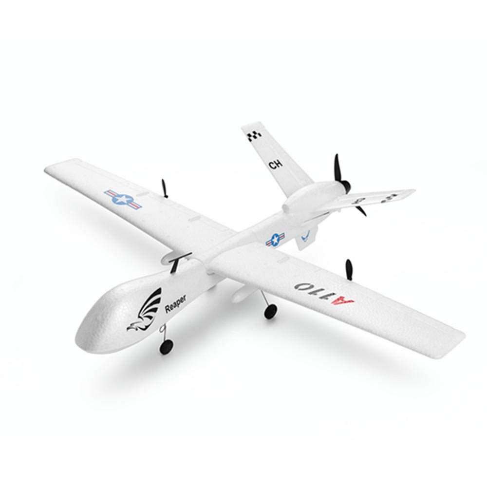 Ocamo XK A110 Predator MQ-9 EPP 565mm 翼スパン 2.4G 3CH DIY グライダー RC飛行機 RTF 内蔵ジャイロ   B07JZBK17V