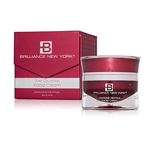Brilliance New York - Ruby Collection Face Cream, Infused with Rubies and Reishi Mushroom Extract, 1.69 fl oz (50 ml)