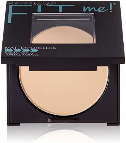 Maybelline New York Fit Me Matte Plus Poreless Powder, Classic Ivory, 0.29 Ounce