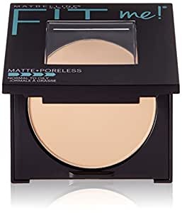 Maybelline New York Fit Me Matte Plus Pore Less Powder, Classic Ivory, 0.29 Ounce