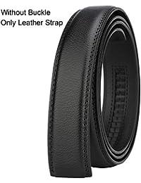 Dante Men's Real Leather Ratchet Dress Belt with...