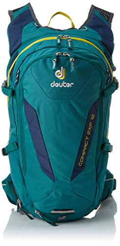(Deuter Compact EXP 12 Biking Backpack with Hydration System, Black)